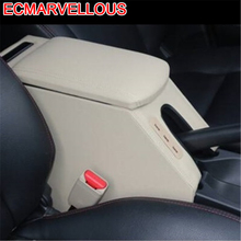 Styling Car-styling Car Arm Rest Decorative Auto Mouldings Accessories protector Armrest Box 14 15 16 17 18 FOR Honda Gienia