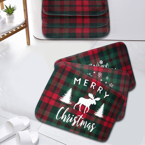 60cm Doormat Xmas Christmas Carpet Happy New Year 2021 Merry Christmas Ornament 2020 Christmas Decorations For Home Supplies(China)