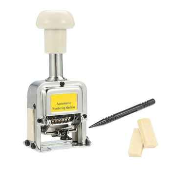Number Machine 7 Position Automatic Numbering Machine Into The Number Coding Page Chapter Marking Machine Digital Stamp - DISCOUNT ITEM  31% OFF All Category