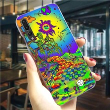 Hippy Hippie Psychedelic Art Phone Case for Huawei P20 Lite 2019 Cover P9