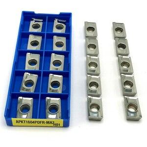 Image 3 - APKT1135 APKT1604 APGT1604 SEHT1204 RCGT1204 RCGT10T3 di Alluminio Fresatura utensile di tornitura CNC tornio strumenti di Duro Della Lega di strumento di Fresatura