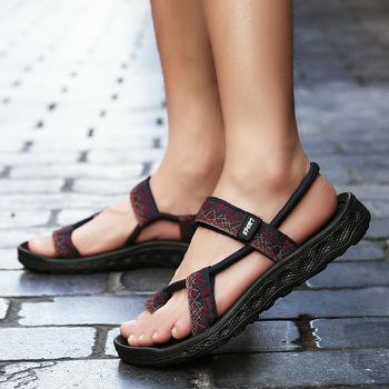 Męskie nowe letnie sandały męskie koreański trend męskie sandały Hollow oddychające sandały na co dzień leniwe buty na plażę męskie rzymskie sandały tanie i dobre opinie FONGIMIC Podstawowe RUBBER Slip-on Pasuje mniejszy niż zwykle proszę sprawdzić ten sklep jest dobór informacji ws5845