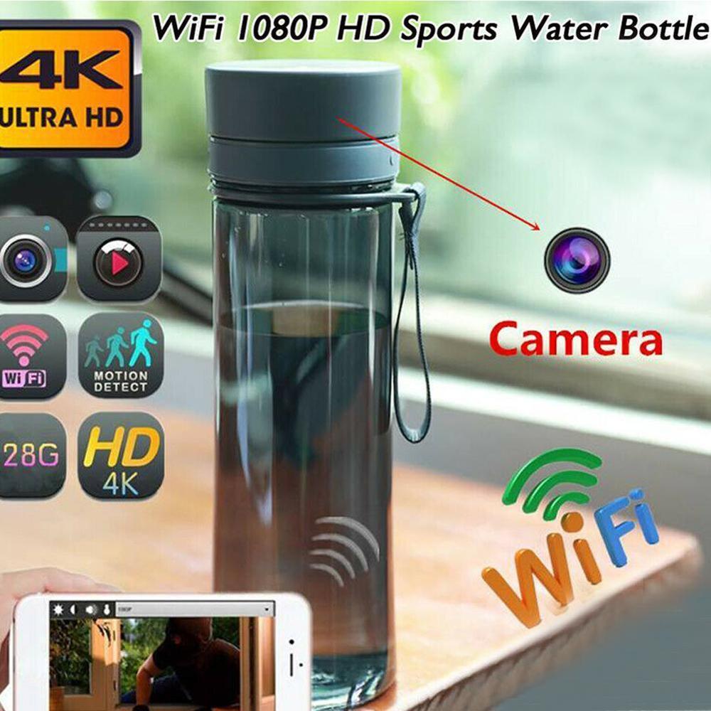 Портативная Мини Wi-Fi камера HD 1080P микро-видеокамера камера для безопасности бутылок веб-камера для воды Беспроводная Спортивная камера виде...