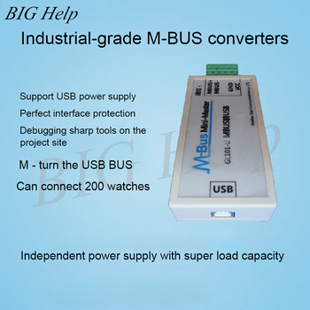 MBUS/M-BUS to USB Converter USB-MBUS Meter Reading Communication USB Power Supply Can Connect 200 Meters 1