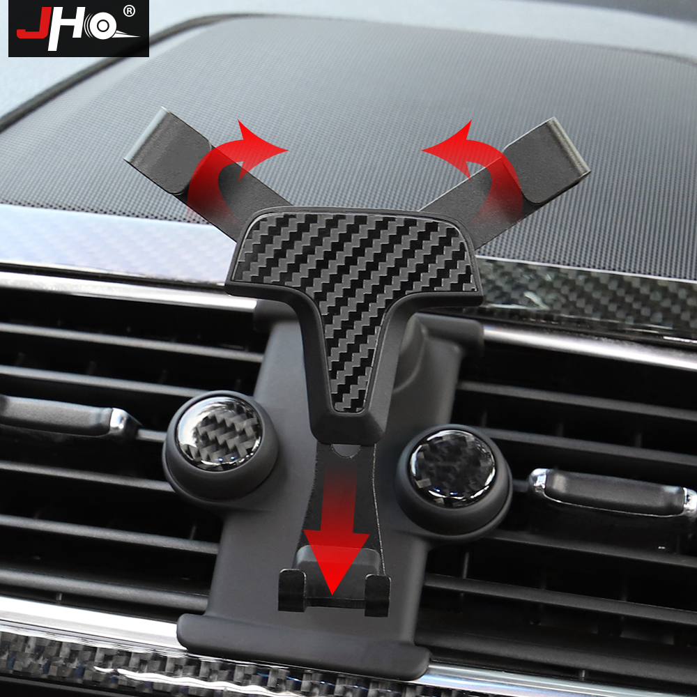 JHO CUSTOM FIT Car Gravity Air Vent Mobile Phone Holder Mount For FORD EXPLORER 2011-2019 2018 2017 2016 2015 2013 Accessories