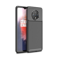 style protective For Oneplus 7T Case Business Style Silicone Rubber Shell Coque Back Phone Cover For Oneplus 7T Protective Case For Oneplus 7T (2)