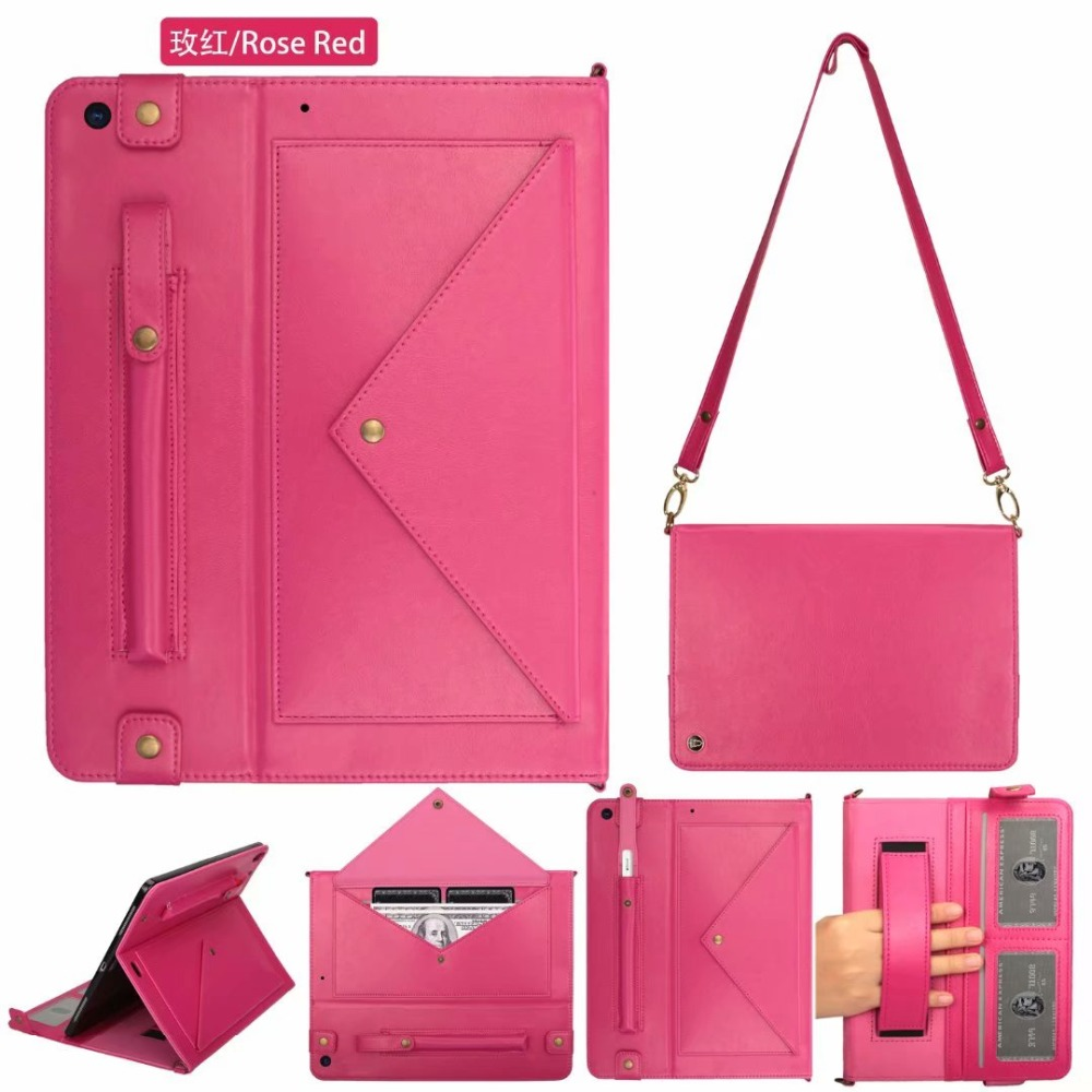 for A2232 2019 10.2Inch Genuine Apple IPad Leather 7th A2198 A2200 Case Tablet Cover