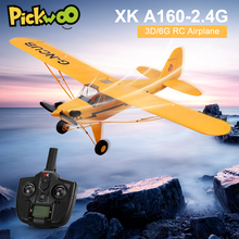 Rc-Drone Aircraft-Model Airplane-Foam Controlled Remote-Radio Xk A160 3d/6g-System Wingspan-Kit