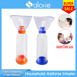 Household Asthma Inhaler Portable Atomizer Nebulizer Nasal Inhaler Suction Spacer for Children Adult Health Kids Care Therapy