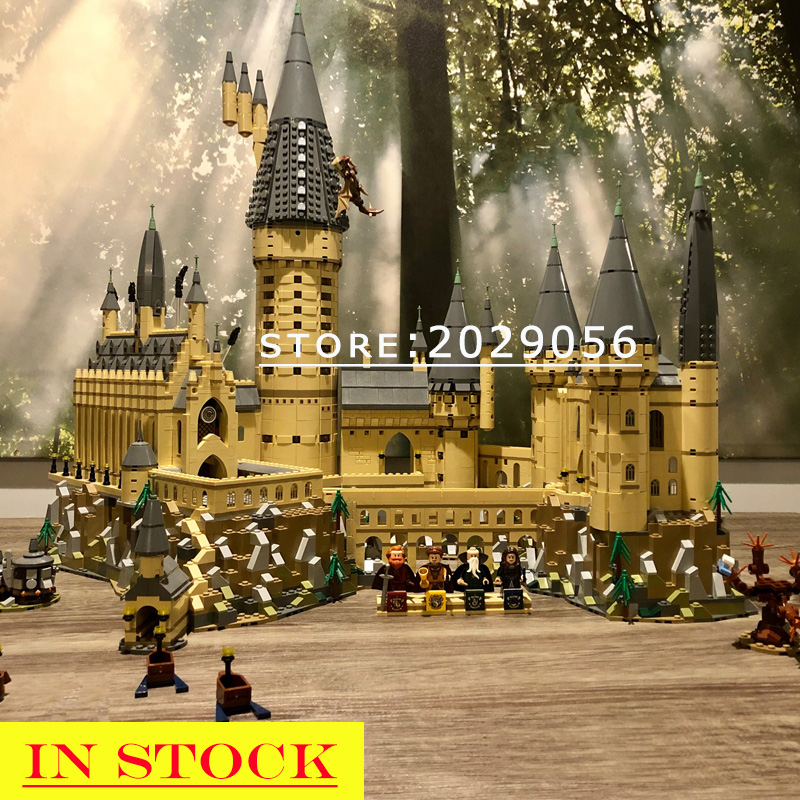 16060 In Stock H Warts Castle 69005 71043 6020pcs Potter Magic School Model Building Blocks Bricks Movie 39170 11025 83037 Toys