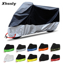 Motorcycle bike cover motorbike moto Scooter Rain Cover Waterproof UV protection For Suzuki Dr 650 Gsxs 1000 Gixxer Gsxr 1000 K9