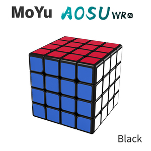 Image 2 - MoYu aosu WR 4x4x4 59mm Cube and WRM 4x4 Magnetic Magic Cube Puzzle Professional WR M Cubing Speed  Educational Kid Toys