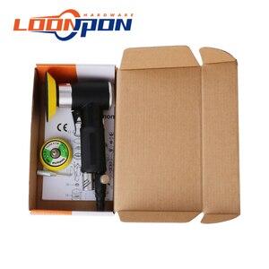 Image 5 - Nova lixadeira de ar mini máquina de moagem pneumática conjunto 2 polegada 3 polegada polidor polimento almofada kit para carro