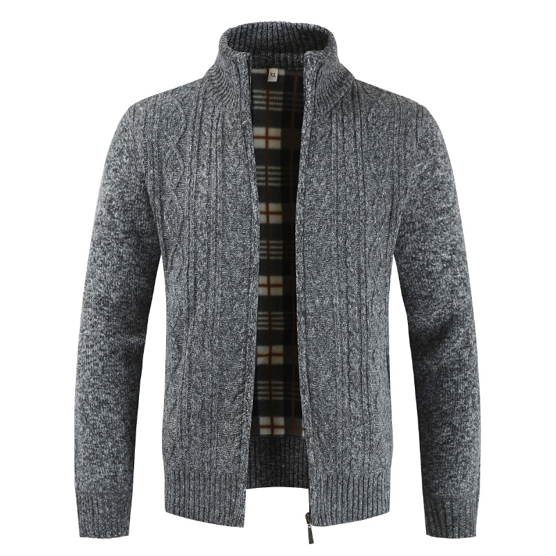 2020 Autumn Winter Cardigan Men Sweaters Thick Warm Knitted Sweater Mens Jackets Coats Male Clothing Casual Knitwear
