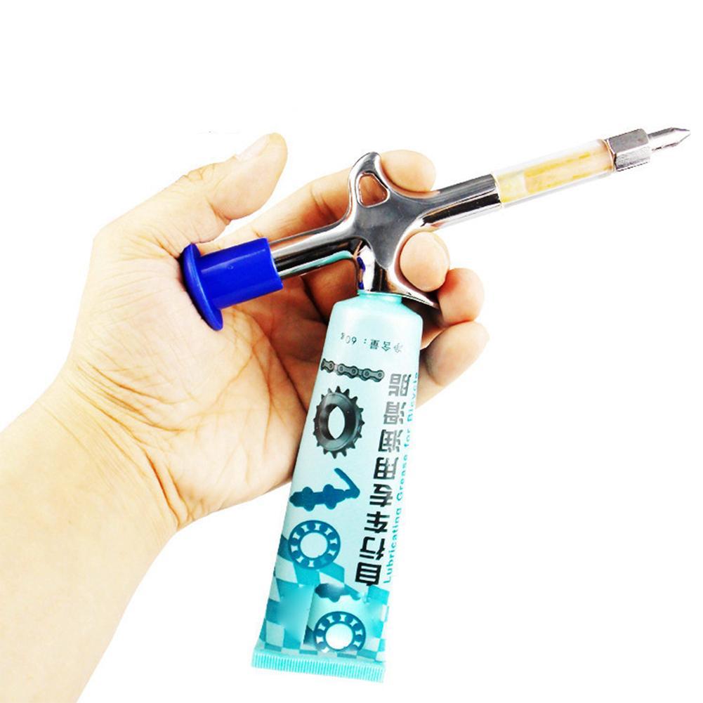 MTB дорожный велосипед Подшипник смазочный пистолет маленький наконечник шприц Аксессуары для велосипеда опорная цепь инжектор Инструменты для поддержки велосипеда|Инструменты для ремонта велосипедов|   | АлиЭкспресс