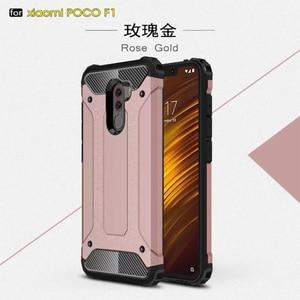Rugged Armor Case For Xiaomi Redmi Note 5 6 7 Pro 4X Case Plus 4 6A 4A S2 Mi A1 A2 6X 8 Lite 9 Pocophone F1 Cases PC Silicone(China)
