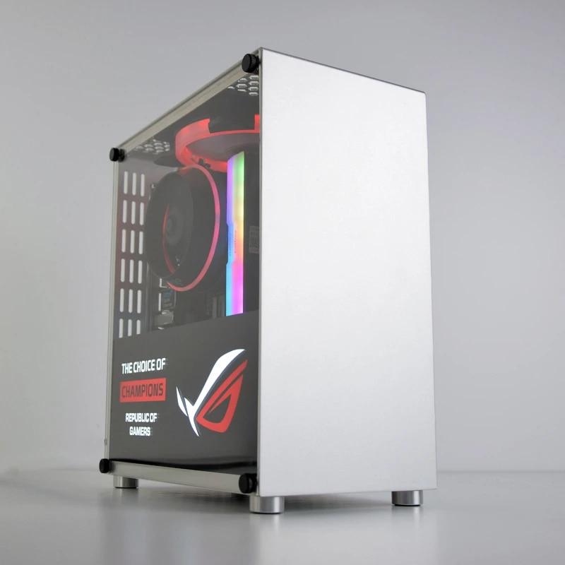 metalfish boitier htpc s3 plus pour ordinateur fixe gamer mini tour de pc en aluminium pour carte mere mini itx chassis vide
