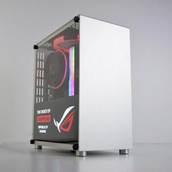 METALFISH S3 Plus ITX MINI Small Case All Aluminum Suitcase Portable HTPC Desktop Computer Empty Chassis PC Gaming Case цена 2017