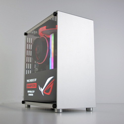METALFISH S3 Plus ITX MINI cajita maleta de aluminio portátil HTPC ordenador de escritorio caja de Juegos de PC de chasis vacío