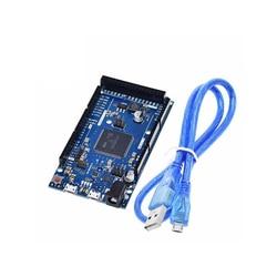 A18-для Arduino Due 2012 R3 ARM, материнская плата управления SAM3X8E, 32-битная рукоятка Cortex-M3 / Mega2560 R3 Duemilanove с кабелем