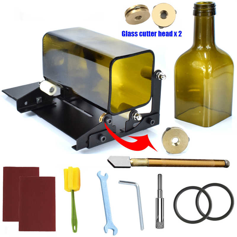Adjustable Glass Wine Bottle Cutter High Strength And Hardness Bottle Cutters H1
