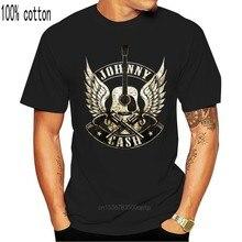 Johnny Cash 3 Armas T-Shirt-Nova Novidade Mens T-Shirts para Os Homens D Impresso Homens de Manga Curta Tops T Shirt