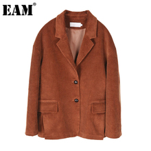 Long-Sleeve Jacket Women Coat Caramel-Color Corduroy Spring Loose Autumn Fashion Big-Size