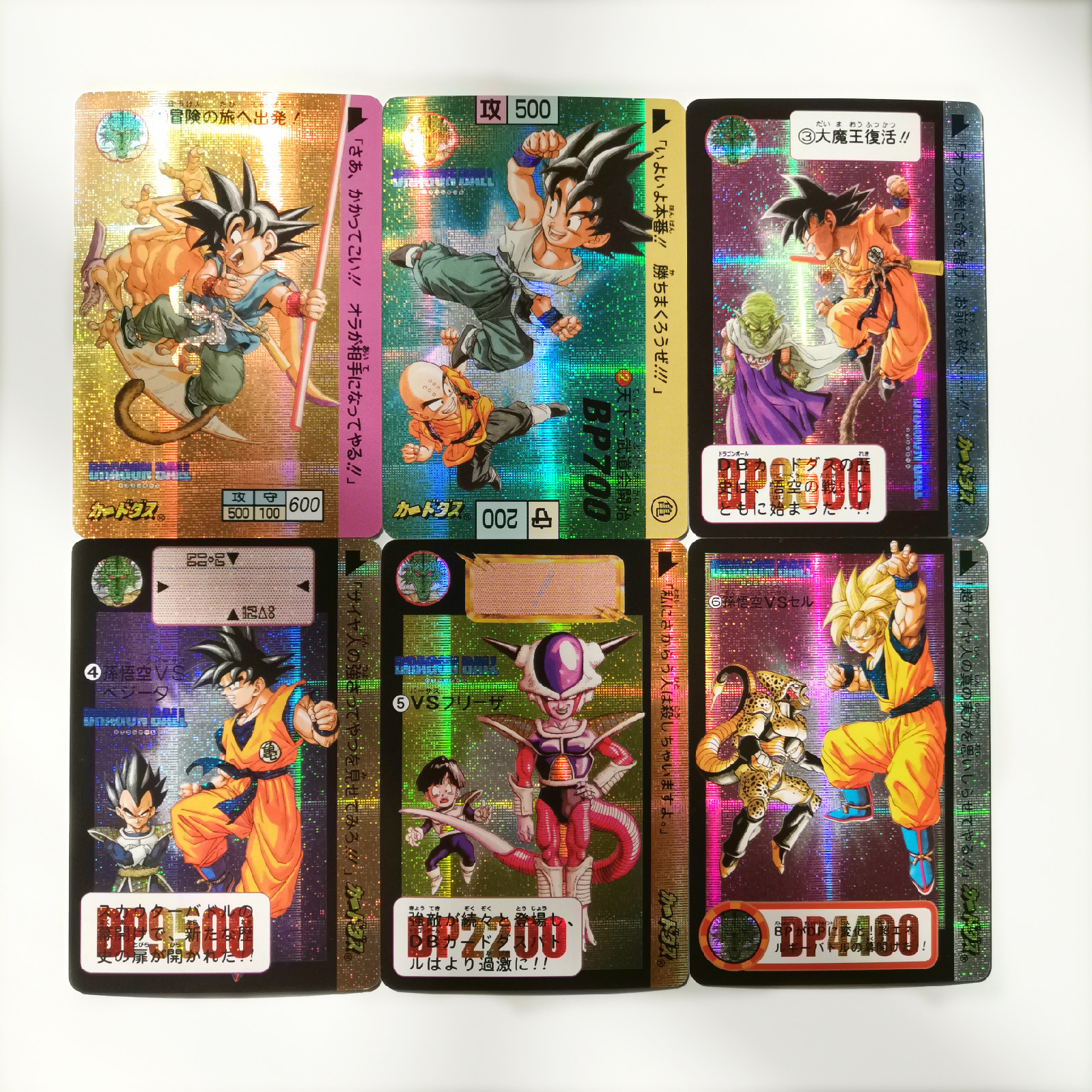6pcs/set Dragon Ball Super Copy Book Card Heroes Battle Ultra Instinct Goku Vegeta Game Collection Cards Free Shipping