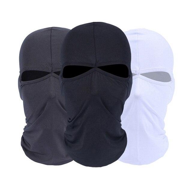HEROBIKER Motorcycle Face Mask Unisex Summer Breathable Balaclava Moto Mask Motorcycle Ski Paintball Tactical Face Shield Hood 1