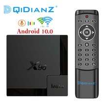 Dual WIFI Android 10 4GB 32GB 64GB Smart TV BOX X96MATE Allwinner H616 Quad Core Google Play Set Top Box  Media player x96 mate