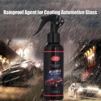 Agente de recubrimiento de pintura de coche capa de líquido de coche espejo a prueba de lluvia agente de inundación de vidrio marca de lluvia película de aceite removedor 120ML