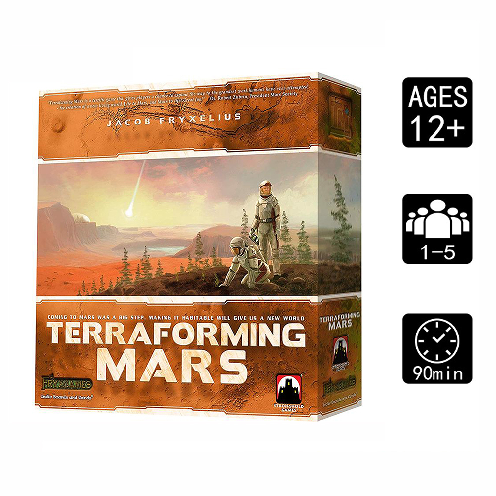 Board Game: Terraforming Mars Large  1--5player Table Card Game Best Gift Family Funny Party Game