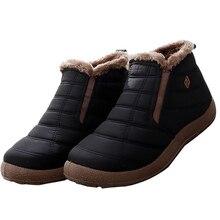 цена Platform boots men Keep Warm Winter shoes men Non slip Wear resistant Velvet Ankle boots for male 2019 New Snow boot man онлайн в 2017 году