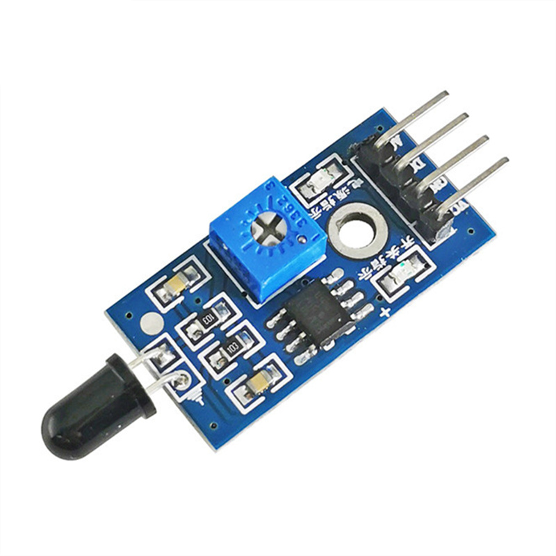 LM393 IR Flame Detection Sensor Module Fire Detector Infrared Receiver Module 4 Pin 3 pin for arduino Diy Kit