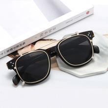 Поляризационные солнцезащитные очки на застежке для мужчин и