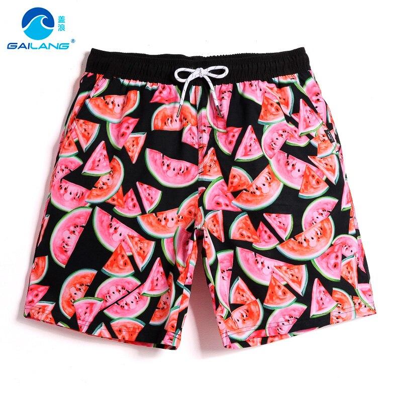 Gailang Brand Men's Quick Drying Boxers Trunks Active Man Bermudas Men Beach Swimwear Swimsuit Board Shorts Plus Size XXXL Size