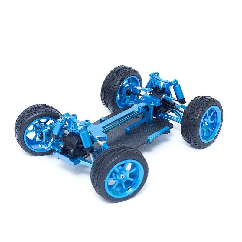 Para Wl toys A949 A959 A969 A979 piezas de repuesto de coche teledirigido marco de Metal mejorado + conjunto de chasis de fibra de carbono Drone 22 en 1, accesorios prácticos para Hobby, simulador RC de fácil instalación, juguete libre con Cable USB para RealFlight G7