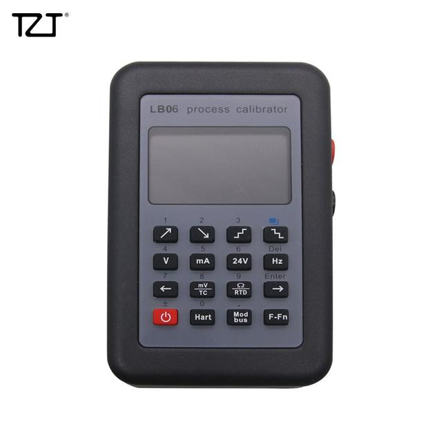 TZT LB06 Multifunction Process Calibrator 0 24mA 0 11V/ mV Signal Generator Hart Modbus Function