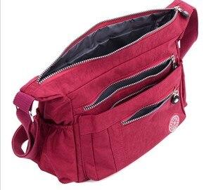 Image 5 - 2020 春と夏オックスフォード生地のバッグ大容量のクロスボディバッグビッグバッグカジュアルナイロン女性のショルダーバッグ