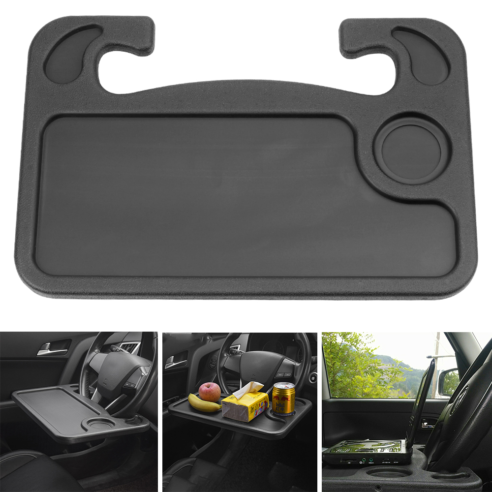 Portable Wordpad Car Desk Car Laptop Computer Table Steering Wheel Eat Work Drink Food Coffee Goods Tray Auto Accessories