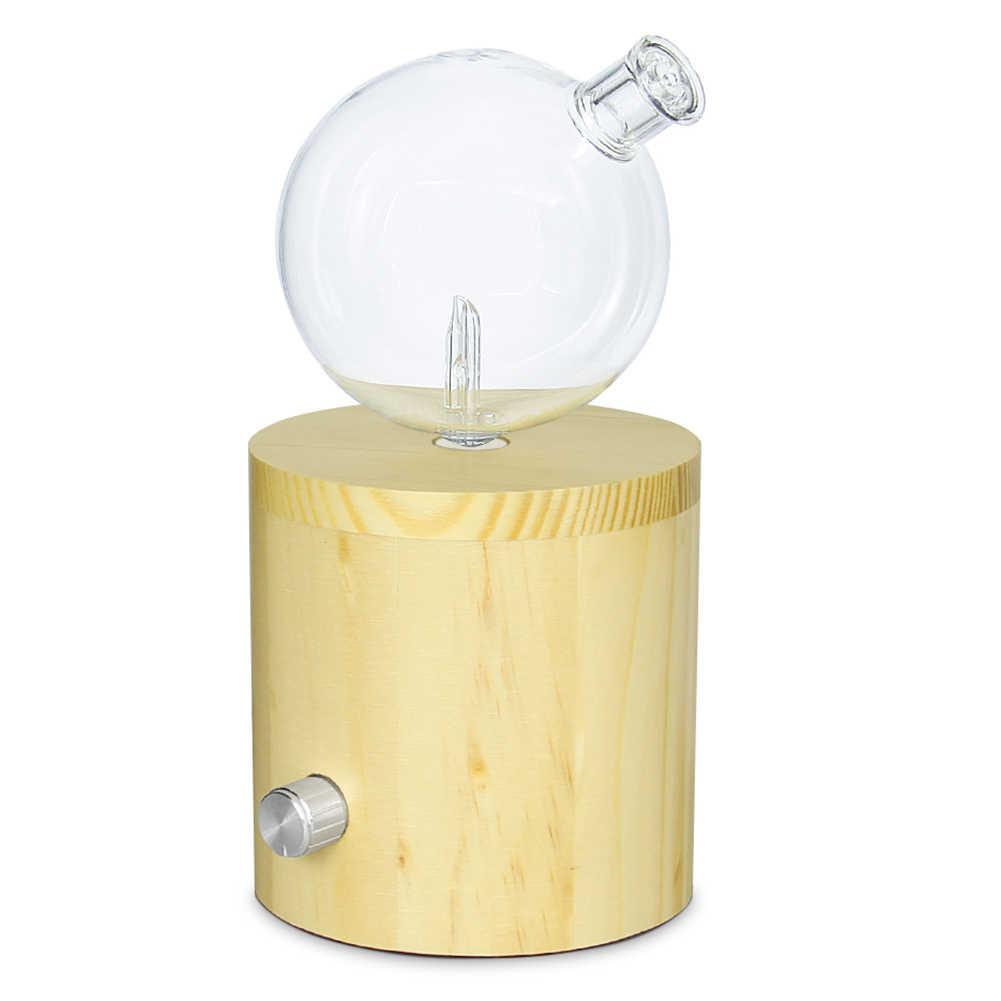 20ML di Olio Diffusore, Maggiore Efficienza di Nebulizzazione e Diffusione Di Base Di Bambù Vetro Nebulizzazione Olio Essenziale Diffusore Aromaterapia