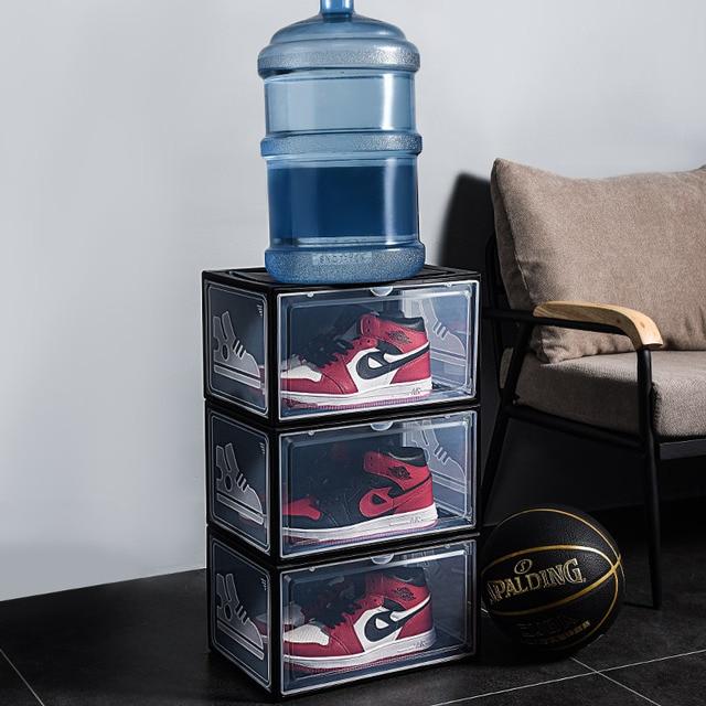 Business Office Furniture Storage Organizer Sliding Plastic Storage Box