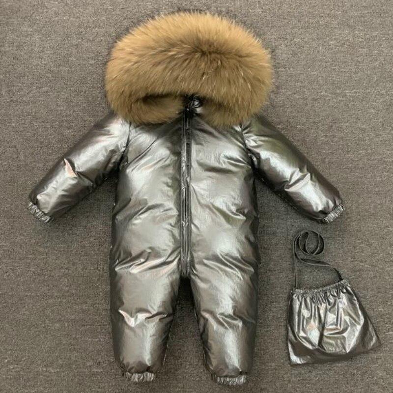 Новый Детский пуховик; верхняя одежда; зимняя Лыжная одежда; зимняя куртка для девочек и мальчиков; Верхняя одежда для малышей; зимний комбинезон; пальто