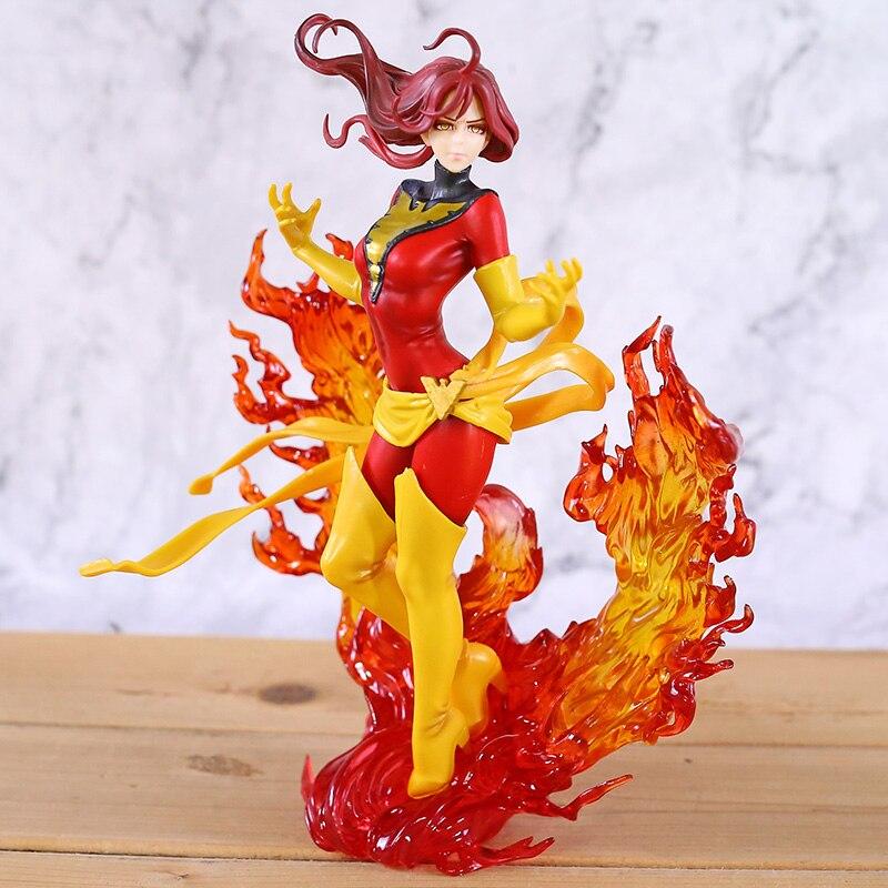 Bishoujo Statue Dark Phoenix Lady Deadpool Harley Laura Kinney Supergirl Spider Woman Psylocke Figure Doll