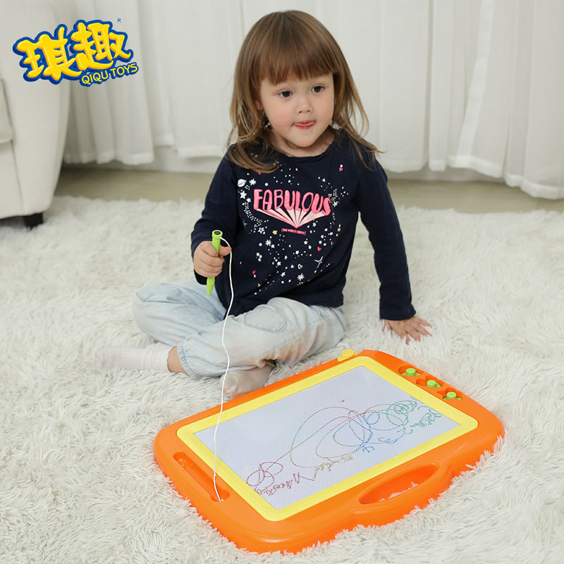 Children Drawing Board Large Size WordPad Baby Small Toys 1-3 Years Old 2 CHILDREN'S Color And Magnetic Graffiti