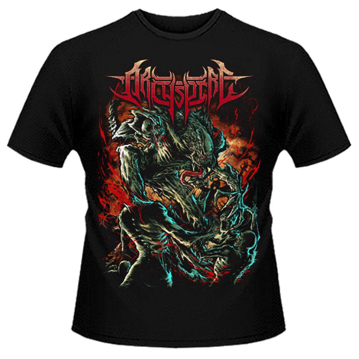 Archspire Stay Tech Shirt S M L XL Death Metal T-Shirt Offcial Band Tshirt