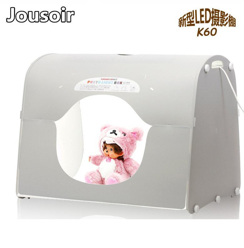 Профессиональная фотостудия Light Box Палатка (Sanoto K60 Large Light Box) LED Небольшая профессиональная фотолаборатория no00dc