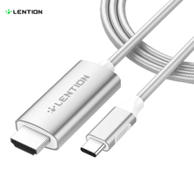 USB C to HDMI 2.0 Cable Adapter (4K/60Hz) for  MacBook Pro (Thunderbolt 3), New iPad Pro and Mac Air, Samsung S10/S9/S8/Plus minix neo c d usb c charging thunderbolt 3 up to 5k 60hz or two 4k 60hz multiport adapter hdmi output for apple macbook pro