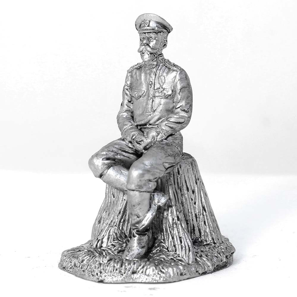 Nicholas the second emperor of Russia 1917 Year tin soldier figure 54mm u385 tin toy soldiers tin soldiers soldiers metal soldiers military soldiers Knight