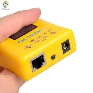 Image 3 - Testeur PoE paquet de détecteur PoE de poche testeur de tension et de courant PoE en ligne détecteur PoE pour installation de vidéosurveillance